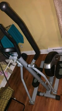 black and gray elliptical trainer Laval, H7R 1P8