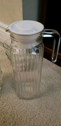 clear glass jar with lid Mississauga, L5R 3Z5