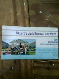 Junk removal Kennesaw, 30144