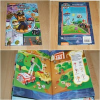 Paw Patrol - Little Look and Find (hard cover) Surrey