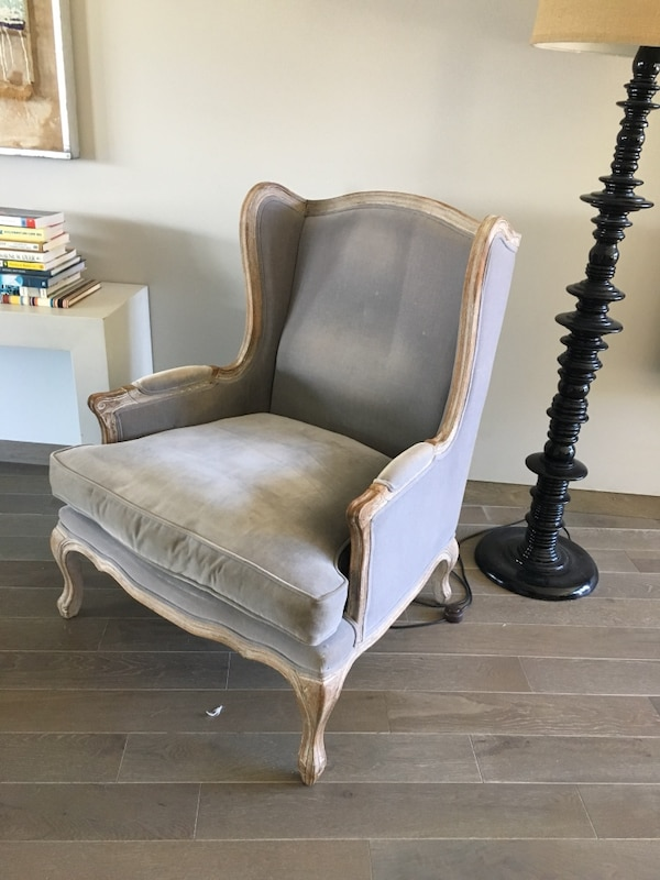 Used Restoration Hardware Wingback Chair For Sale In Los Angeles Letgo