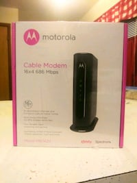 NEW Motorola MB7420 Cable Modem - 16x4 686mbps DOCSIS 3.0   Milwaukee