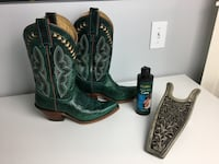 One of a Kind Cowgirl Boots!