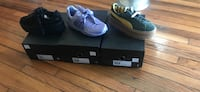 pair of black Nike basketball shoes New Orleans, 70119
