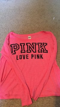 pink and black Pink by Victoria's Secret sweater