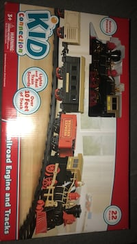 Black and red train toy set Virginia Beach, 23453
