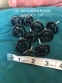 REDUCED 10 Scroll Collection Black Knobs Long Beach, 90802