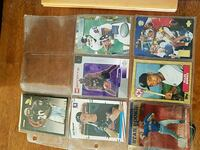 nine assorted baseball trading cards Oakland, 94613