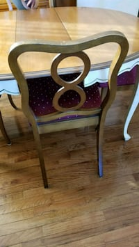 Antique table and 6 chair  Calgary
