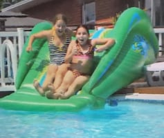 Summer fun water Slide ( inflatable water slide