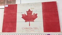 red and white wooden wall decor Barrie, L4N 4P9