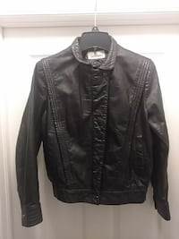 Women's black leather jacket Fort Myers