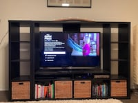 IKEA Tv Storage Unit with shelf unit Mississauga, L5A 0A1