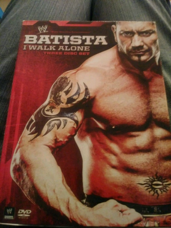 Wwe Batista 3 disc set 0