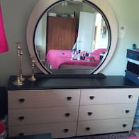 6 drawer dresser and mirror Kelowna