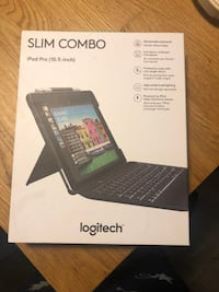 Logitech Slim Combo with detachable keyboard for 10.5-inch iPad Pro - Black null