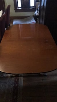 brown wooden table with black metal base Memphis, 38104