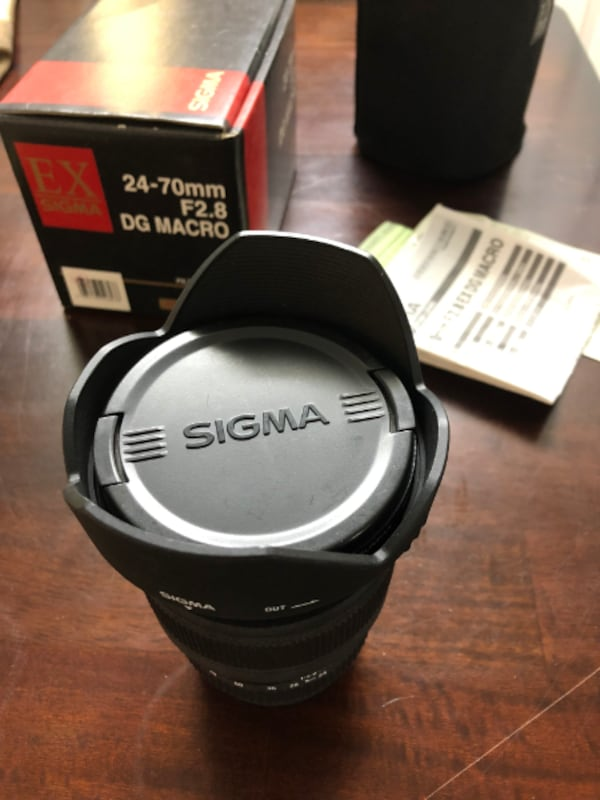 Sigma 24-70mm f2.8 DG Macro Lens - Canon Mount  9b407b65-b13f-4a4e-a8f2-60be113c4fe2