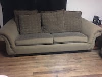 gray fabric 2-seat sofa Stillwater, 74074