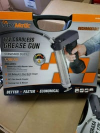 New 12v Cordless Rechargeable Grease Gun Toronto, M3H 2L8
