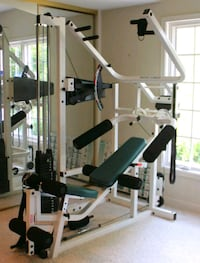 gray and black gym equipment Sterling, 20165