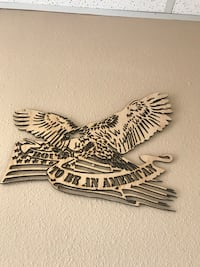 brown wooden to be an American wall decor Enid, 73701