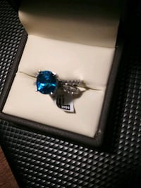 5.45ct Blue Zircon&0.50ct of Diamond Glen Burnie, 21061