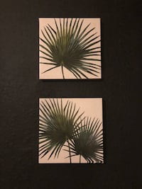 Palm Canvas Artwork