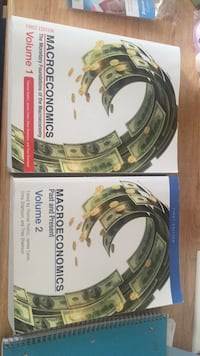 Two Macroeconomics Volume 1 and 2 books Fairfax, 22030