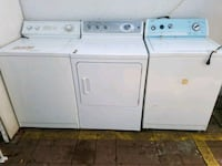 Washer and dryer 11418