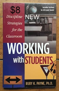 Working With Students: Discipline Strategies for the Classroom Martinsburg, WV, USA