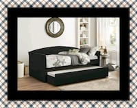 Daybed black with mattress Columbia