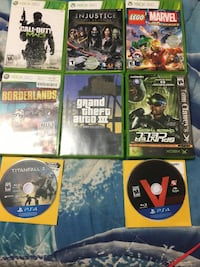 six Xbox 360 game cases Manassas Park, 20111
