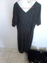 robe grise femme 6659 km