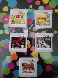 3DS game cartridges $20 EACH Edmonton, T5M 0Y5