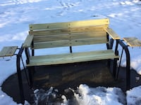 Fully restored 4ft wide glider bench  Vienna, 22180