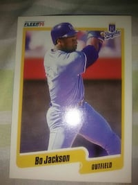 1990 Bo Jackson was a beast is his rookie years