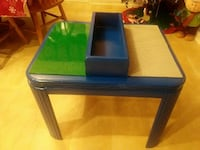 Large Lego table can be used by two kids at once