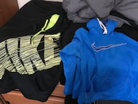 Men's Nike hoodie. Both in great condition! 35 for both! Size large