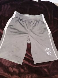 white and gray Nike shorts San Benito, 78586