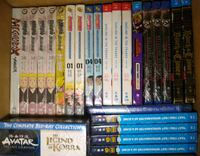 Brand new anime DVDs and blue rays