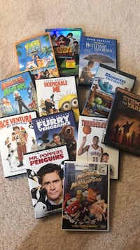 Lot of 12 Kid DVD's Linthicum Heights, 21090