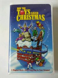 How the toys saved christmas vhs