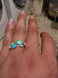 Opal and Sterling ring set Fort Pierce, 34982