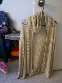 women's brown cardigan 550 km