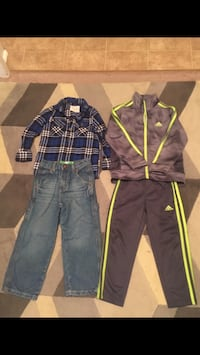 Boys all size 4T and like new condition