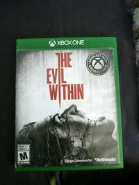 The Evil Within Xbox One game case Winnipeg, R3V 1M2