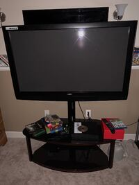 sanyo 50in flat screen with entertainment center Frederick
