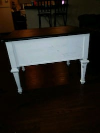 white wooden 2-drawer console table El Paso, 79924