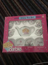 Barbie China Tea Set Somers, 10589